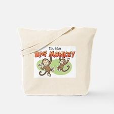 Big Sister - Monkey Tote Bag
