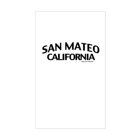 San Mateo Sticker (Rectangle)