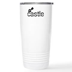 Castle TV Stainless Steel Travel Mug