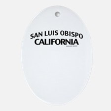 San Luis Obispo Ornament (Oval)