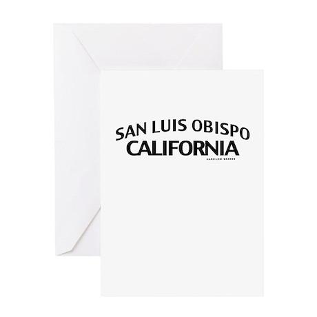 San Luis Obispo Greeting Card