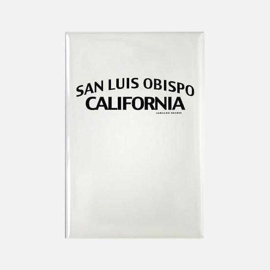 San Luis Obispo Rectangle Magnet