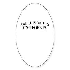San Luis Obispo Decal
