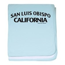 San Luis Obispo baby blanket