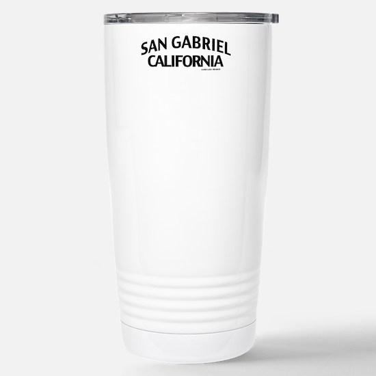 San Gabriel Stainless Steel Travel Mug