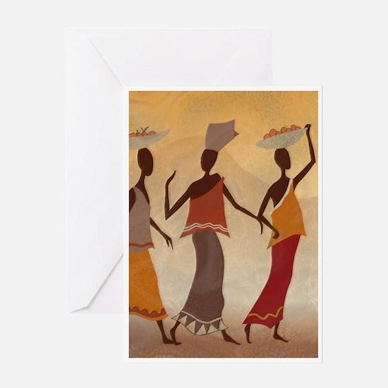 African Women Greeting Card