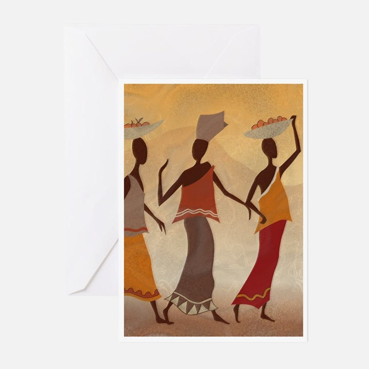 African Women Greeting Cards (Pk of 10)