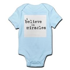 """Miracles"" Words Only Infant Bodysuit"