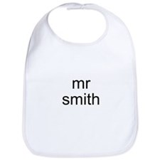 Mr. Smith Bib