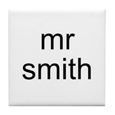 Mr. Smith Tile Coaster