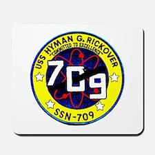 USS Hyman Rickover SSN 709 Mousepad