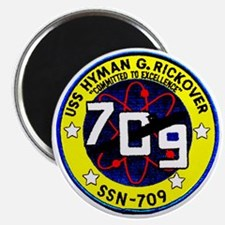 USS Hyman Rickover SSN 709 Magnet
