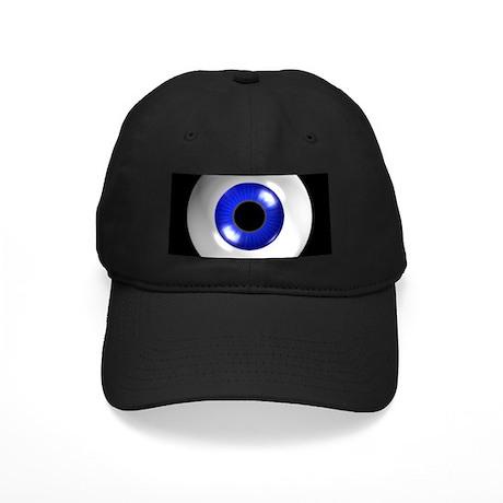Eye - blue - 01 Black Cap