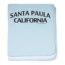 Santa Paula baby blanket