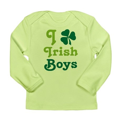 I Love Irish Boys Long Sleeve Infant T-Shirt