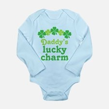Irish Daddy's Lucky Charm Long Sleeve Infant Bodys