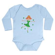 Irish Princess Long Sleeve Infant Bodysuit