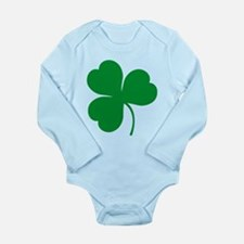 Ireland Irish Clover Long Sleeve Infant Bodysuit