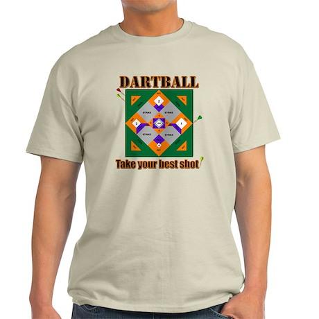Dartball Board Light T-Shirt