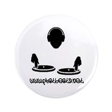 "Funny Pbs 3.5"" Button (100 pack)"