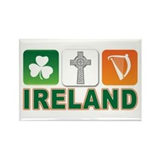 Irish pride Rectangle Magnet