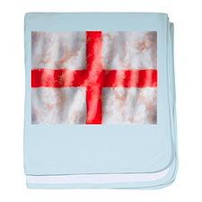 St George Cross baby blanket