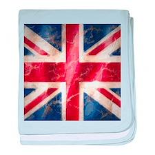 Union Jack baby blanket