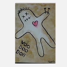 Voodoo Doll Postcards (Package of 8)