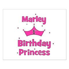1st Birthday Princess Marley! Posters