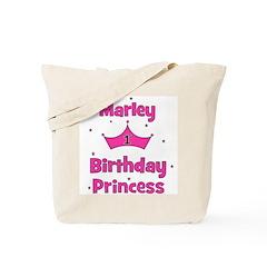 1st Birthday Princess Marley! Tote Bag
