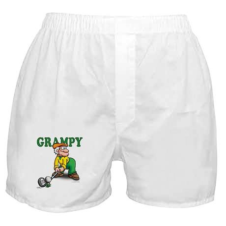 Grampy Golfer Poised Boxer Shorts