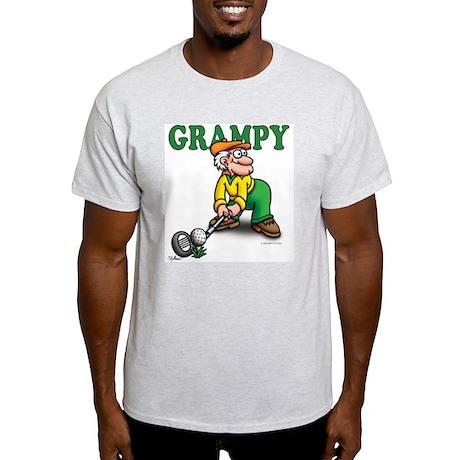 Grampy Golfer Poised Light T-Shirt