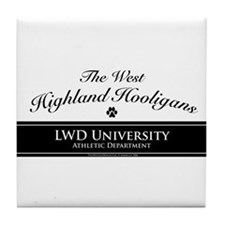 West Highland Hooligans Tile Coaster