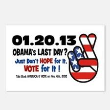 Obama's Last Day Postcards (Package of 8)