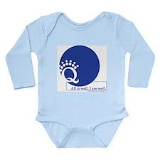 All is Well for Kids Long Sleeve Infant Bodysuit