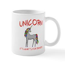 Unicorn It's What's For Dinner Mug