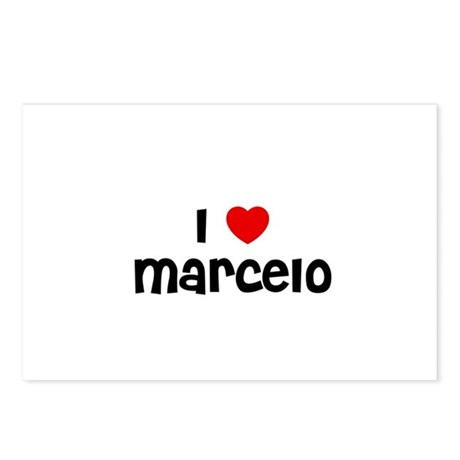 I * Marcelo Postcards (Package of 8)
