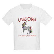 Unicorn It's What's For Dinner T-Shirt