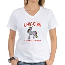 Unicorn It's What's For Dinner Shirt