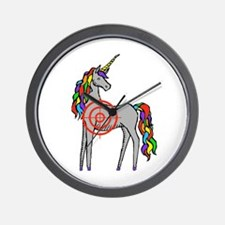 Unicorn Hunter Wall Clock