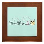 MomMom to Bee Framed Tile