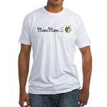 MomMom to Bee Fitted T-Shirt