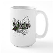 Malcolm Tartan Grunge Mug