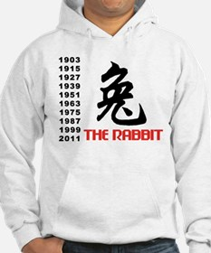 Chinese Symbol Year of The Rabbit Jumper Hoody