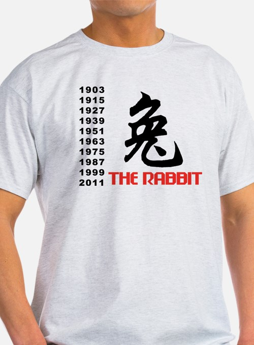 Chinese Symbol Year of The Rabbit T-Shirt