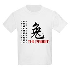 Chinese Symbol Year of The Rabbit T-Shirt