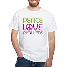 Peace Love Flowers Shirt