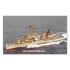 USS BASILONE Decal
