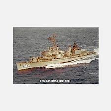 USS BASILONE Rectangle Magnet