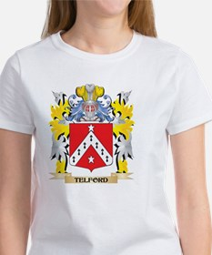Telford Family Crest - Coat of Arms T-Shirt